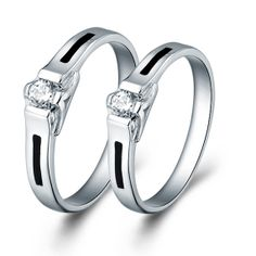Unique Engagement Rings Sold by 2 Pcs by UloveFashionJewelry, $11.07