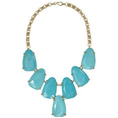 Harlow Statement Necklace in Turquoise - Kendra Scott Jewelry
