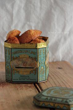 madeleines036 Mousses au chocolat & madeleines au caramel beurre salé