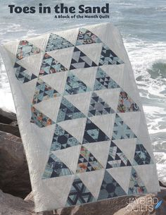 Introducing, Toes in the Sand - A Block of the Month Quilt | Jaybird Quilts