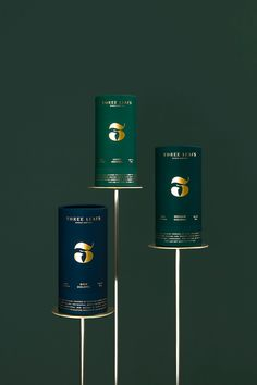 Three Leafs on Packaging of the World - Creative Package Design Gallery Luxury Packaging, Beverage Packaging, Coffee Packaging, Bottle Packaging, Cosmetic Packaging, Chocolate Packaging, Tea Packing Design, Leaf Design, Design Design