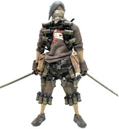 Slicer Tomorrow King 'Baka' by Ashley Wood Ashley Wood, Character Concept, Character Design, Toys For Us, Crazy Toys, By Any Means Necessary, Cyberpunk Art, Steampunk, Vinyl Toys