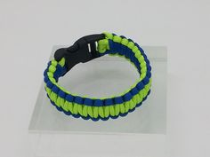 Grab them quick!  Seattle Seahawks Inspired Paracord Bracelet