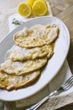 Un secondo piatto classico da fare anche all'ultimo minuto: regalo a te la mia ricetta collaudata delle scaloppine al limone!