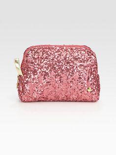 Stephanie Johnson - Greta Medium Sequined Cosmetic Case - Saks.com