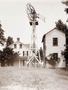 2 Old Farm Houses & Windmill | Farmhouses | Pinterest