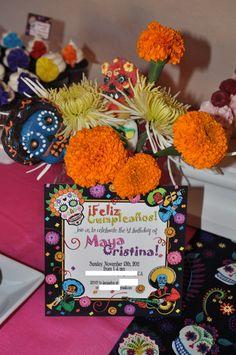 Maya's Dia De Los Muertos Birthday Party