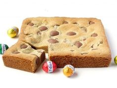 Easter Egg Cookie Slice recipe