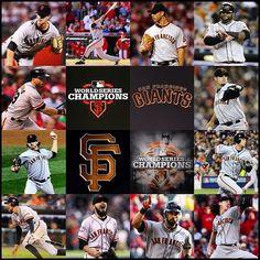World Champs - 2010 & 2012 World Series Winners, 2012 World Series, San Francisco Giants Baseball, My Giants, Buster Posey, G Man, Home Team, Atlanta Braves, Camps