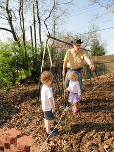 Springtime in Lexington Kentucky means it is time start the seeds.  I love having my grandchildren help me.  Later they can harvest and see what God has supplied.