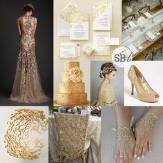 Golden Lace Wedding