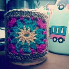 """13 Me gusta, 4 comentarios - La que teje (@lady_tru_tru) en Instagram: """"Coffe mug cozy crochet. #CozyTruTru #LoveCrochet #LoveTruTru"""""""