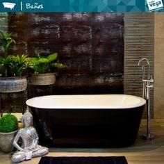 Cambia el Look de tu Baño. Tenemos variedad de tinas. Encuéntralo en #HomeVega #HomeVegaBanos #TinasDeBano #tinas #Estilos2014 #metacrilato
