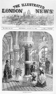 Photo:Advertising the aquarium opening on August 10th 1872