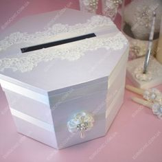 Коробка для денег CLASSIC WEDDING айвори
