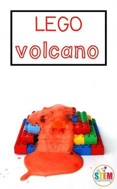 LEGO Volcano - The Stem Laboratory