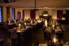 Romantic Winter Wedding held within The Henry Ford's Eagle Tavern