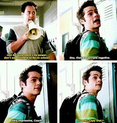 Teen wolf - missing coach and his funny appearances Teen Wolf Coach, Teen Wolf Mtv, Teen Wolf Funny, Teen Wolf Dylan, Teen Tv, Teen Wolf Stiles, Dylan O'brien, Teen Wolf Quotes, Teen Wolf Memes