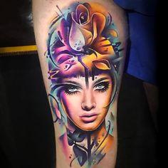 Wow I love this tattoo!!