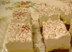 Albán krémes – szeretni fogod, annyira különleges! Vanilla Cake, Oreo, Deserts, Food And Drink, Pudding, Sweets, Cookies, Baking, Hungarian Recipes