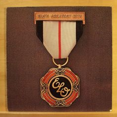ELO ELECTRIC LIGHT ORCHESTRA Greatest Hits - Vinyl LP Evil Woman Livin`Thing RAR