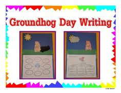 Groundhog Day Craftivity! Super Cute!!