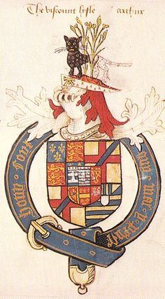Arthur Plantagenet, 1st Viscount Lisle, KG (died 3 March 1542) was an illegitimate son of King Edward IV, half-brother of Queen Elizabeth of York, and thus an uncle of King Henry VIII,