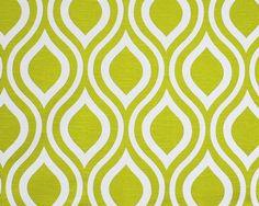 Citrine Modern Throw Pillow - Premier Prints Emily Artist Green Decorative Throw Pillow -- Free Shipping