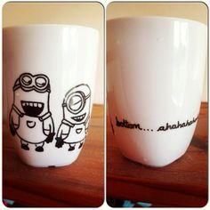 Sharpie On Coffee Mugs Craft | Via Bryony Langmaid