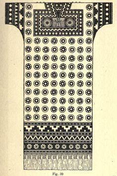 tunika kralja asurbanipala, VII v.p.n.e.