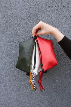 Color popping everywhere! Pick yours! Eureka Shoes, Little Bag, Red Green, Color Pop, Madewell, Tote Bag, Lifestyle, How To Make, Handmade