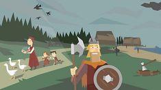 Who were the Vikings? Anglo Saxon History, Tudor History, Asian History, British History, Educational Websites For Kids, Learning Resources, Vikings Ks2, Saxon Chronicles, Anglo Saxon Kingdoms