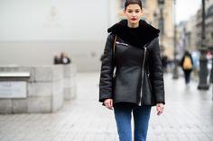Paris Haute Couture Spring 2015 Street Style