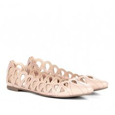 Sole Society Shoes - Cut out flats - Karlene