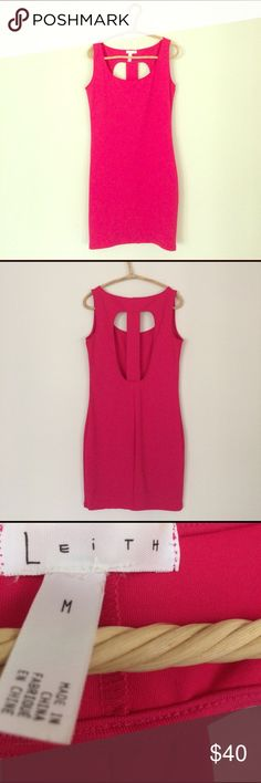 Leith Bodycon Mini Dress Leith Bodycon Mini dress. Size M. New. No tags. Leith Dresses Mini