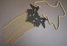DIY Necklace  : DIY Sachin + Babi Rorschach Necklace