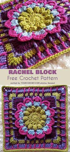 Rachel Block for Afghans Free Pattern
