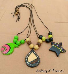 Terracotta Jewellery Making, Terracotta Jewellery Designs, Terracota Jewellery, Funky Jewelry, Clay Jewelry, Jewelry Crafts, Jewlery, Polymer Clay Projects, Handmade Polymer Clay
