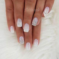 860 Mejores Imágenes De Uñas Con Piedras En 2019 Cute Nails Make