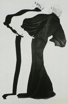 Triple fashion by Erwin Blumenfeld