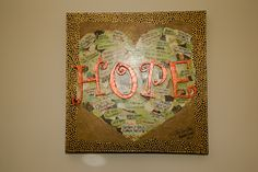 Our beautiful donor recognition piece for the Family Room Remodel.