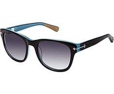 Portsmouth Sunglasses, Black / Light Blue, dynamic