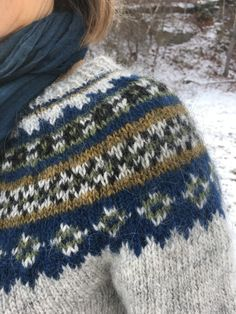 Lopi Week: Our First Lopi Sweaters – Knitting and Crochet techniques from the Berroco Design Team Fair Isle Knitting Patterns, Sweater Knitting Patterns, Knitting Designs, Knit Patterns, Icelandic Sweaters, Nordic Sweater, Yarn Shop, Sweater Design, Yarn Colors