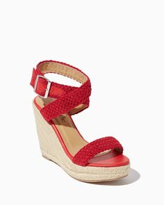 charming charlie | Zinnia Espadrille Wedges | UPC: 3000736145 #charmingcharlie