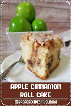 ★★★★★ - Apple Cinnamon Roll Cake - If you like cinnamon rolls, you'll love this easy apple dessert recipe. Grilled Recipes, Snacks Recipes, Bacon Recipes, Noodle Recipes, Easy Dinner Recipes, Delicious Recipes, Bread Recipes, Appetizer Recipes, Easy Recipes