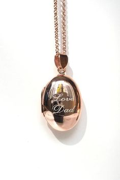 OVAL LOCKET NECKLACE  ( PICTURE LOCKET )