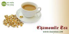 Chamomile Tea, Healthy Drinks, Tea Cups, Beverages, Calming, Tableware, Easy, How To Make, Drinks