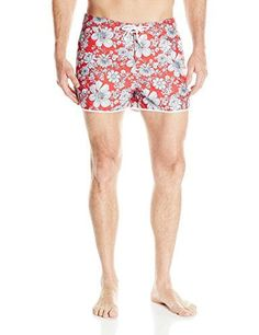 Introducing Original Penguin Mens Floral Printed Dolphin Swim Trunk Rococo Red 29. Get Your Ladies Products Here and follow us for more updates!