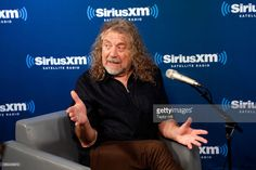 Robert Plant at SiriusXM in New York, October 2017.