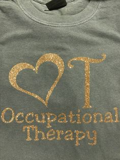 Occupational Therapy with heart shirt